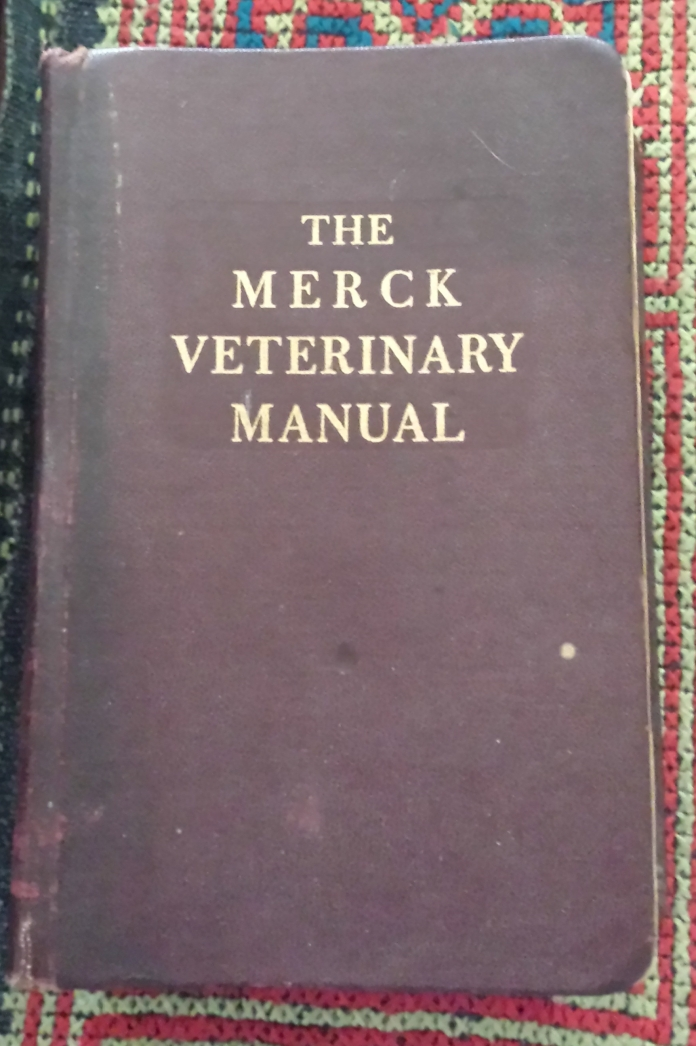 1940's Merck Veterinary Manual